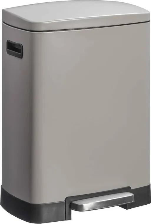 Pedaalemmer Duo 40 Liter Taupe