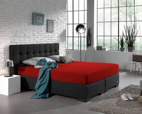 Dubbel Jersey 220 gram Straight PACK Red 200x220 cm