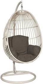 Panama swing chair egg Wit Garden Impressions