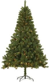 Verlichte Kerstboom Canmore (h120 x ø76 cm) (Groen, PVC, Canmore (h120xd76 cm), Canmore