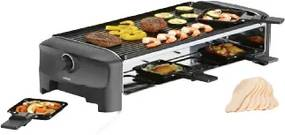 162840 Raclette 8 Grill and Teppanyaki Party - Fun Cooking