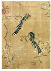 Panel of a Chinese Wallpaper Wandsysteem 140 x 100 cm