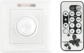 LED Dimmer 230V, fase aansnijding, 2W-300W, Incl. Afstandsbediening