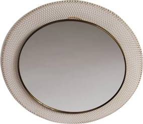 Round Vintage Mirror from the 50s