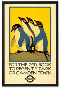 For the Zoo book to Regent's Park, print met frame