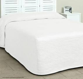 Bedsprei - Boxcover - Wit